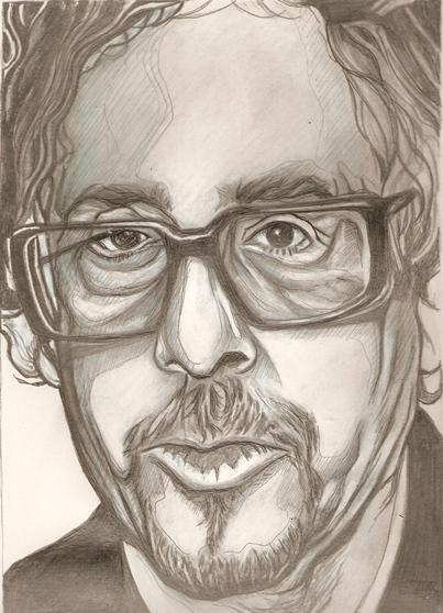 Tim Burton by RobCrandall